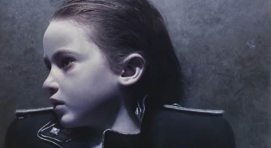 """Gottfried Helnwein,""""The Murmur of the Innocents 47"""", 2014-2015, Mixed Media, Öl und Acryl auf Leinwand, 180 x 252 cm, rückseitig signiert und datiert: G. Helnwein 2014/2015, Foto: Kaiblinger - Galerie & Kunsthandel, Ing. Siegfried Kaiblinger © Bildrecht Wien, 2017"""