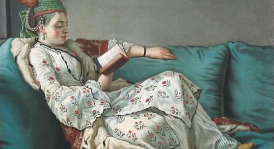 Jean-Etienne Liotard  Leserin im orientalischen Gewand, 1748-52 © Sammlung Schirmer, München