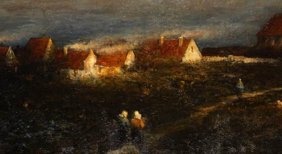 """""""Abend auf Helgoland"""", Heinrich Ludwig von Gleichen-Russwurm"""