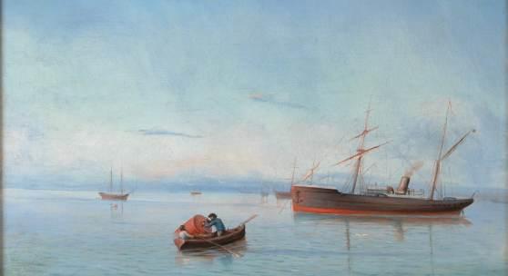 Lev Feliksovic Lagorio: Schiffe auf dem Schwarzen Meer
