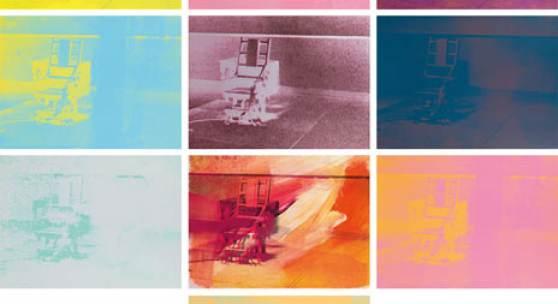 0770 Andy Warhol* Electric Chair Portfolio (10-teilig) Schätzpreis € 150.000 - 250.000  Meistbot € 180.000