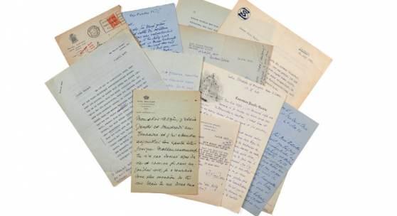 Auszüge aus der Korrespondenz zwischen Stefan Zweig und Alzir Hella. (Schätzung: 50.000-60.000 € / 55.500-66.600 US$)