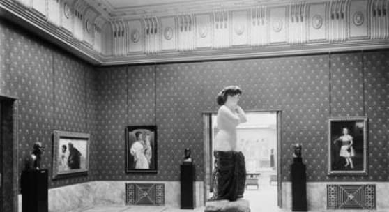 Bildlegende: Die Venus in der Eröffnungsausstellung im Kunsthaus Zürich, 1910 © Kunsthaus Zürich