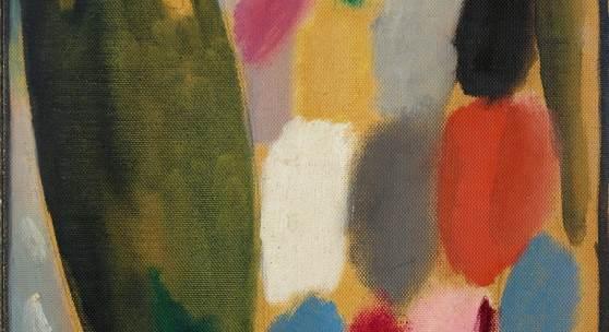 Alexej von Jawlensky  Variation: Purpurgold (Herbst) Um 1918 Lot 207 Dα  Schätzpreis: 120.000 € - 150.000 €