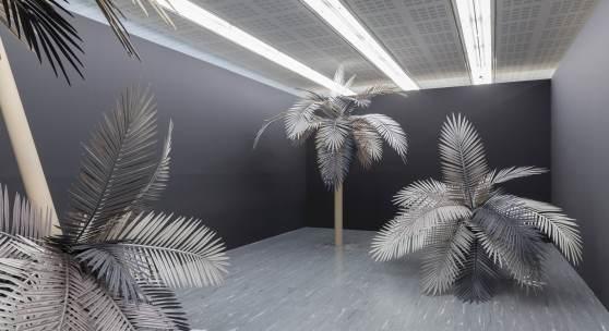Ausstellungsansicht Sarah Ortmeyer – KOKO PARADISE, 21er Raum  Foto: © Belvedere, Wien