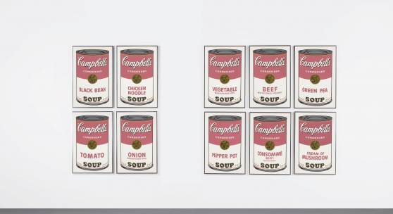 10054 Andy Warhol, Campbell's Soup I