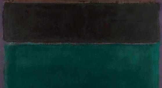 Mark Rothko, Ohne Titel (Rotbraun, Schwarz, Grün, Rot), 1962, Öl auf Leinwand, 206,0 x 193,5 cm, Fondation Beyeler, Riehen/Basel, Sammlung Beyeler; © 1998 Kate Rothko Prizel & Christopher Rothko / 2019, ProLitteris, Zürich; Foto: Peter Schibli