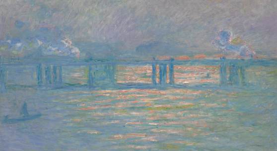 Lot 8 Journey of A Lifetime: Property from The Collection of Andrea Klepetar-Fallek Claude Monet Charing Cross Bridge Signed Claude Monet and dated 1903 (lower left) Oil on canvas 25 5/8 by 39 1/2 in.; 65 by 100.3 cm Painted in 1903. Estimate $20/30 million Sold for $27,600,000