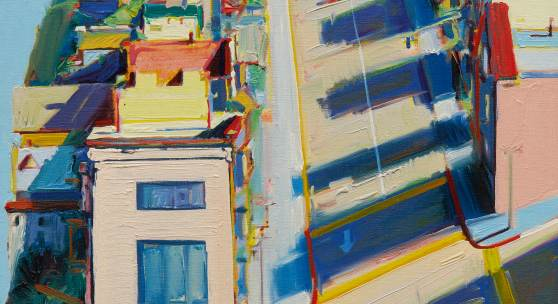 10150 Lot 109 - Wayne Thiebaud, Ripley Street Ridge