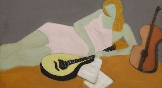 10151 Lot 31, Milton Avery, Young Musician