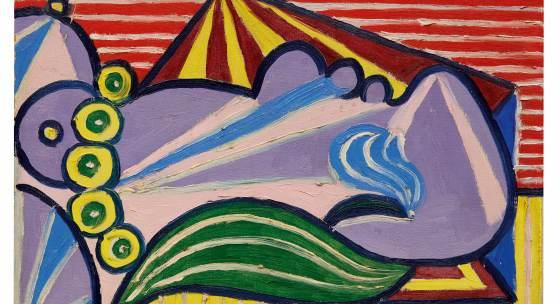 10368 Pablo Picasso, Head of a Sleeping Woman (Tête de femme endormie)