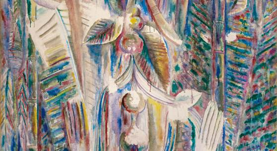 Wifredo Lam Omi Obini Signed Wifredo Lam and dated 43 lower right Oil on canvas Estimate $8/12 million