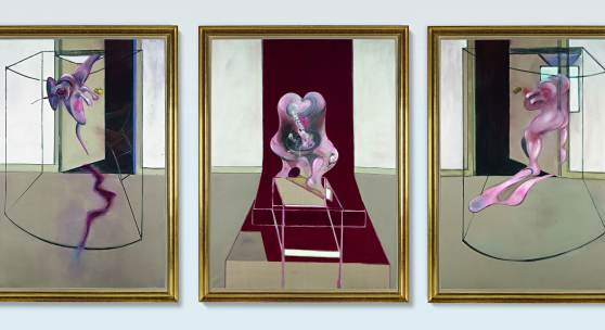10370, Francis Bacon, Triptych Inspired by the Oresteia of Aeschylus