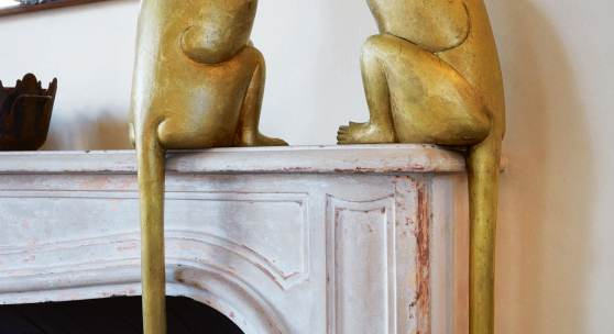 Collectors Go Bananas for Two Gilt Bronze Monkeys by François-Xavier Lalanne: Singe II and Singe I Achieve $4 Million and $3.5 Million Each