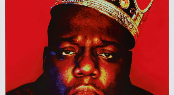 10395 Barron Claiborne, 'Notorious B.I.G. as the K.O.N.Y (King of New York)'