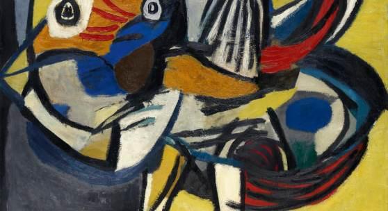 Top Ergebnisse: Karel Appel Tigerbird | 1952 Öl/Lw | 116 x 147cm Ergebnis: 409.600 Euro