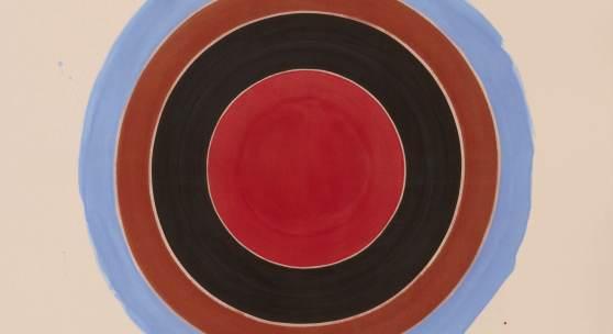 Kenneth Noland's Ember sold for $2.6 million