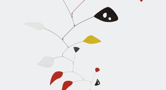 Alexander Calder's Mariposa, estimate $6/8 million