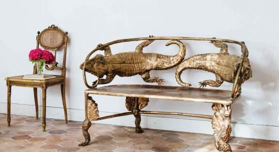 10702 Claude Lalanne, Crocodile Settee