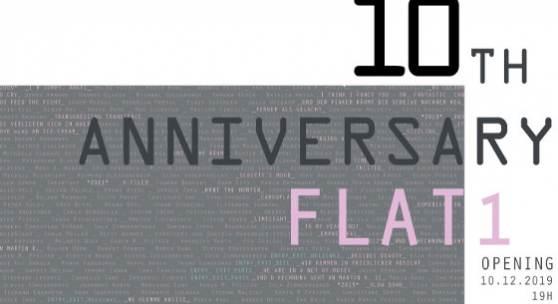 10 Jahresfeier flat1 am dienstag 10.12. ab 19h