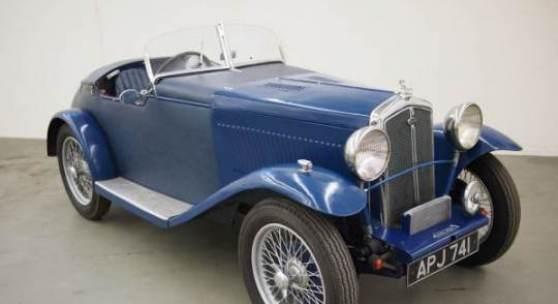 Wolseley Hornet Special, 1934, Rufpreis € 9.000, Schätzwert € 27.000 - 32.000