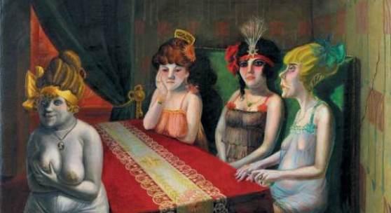 Otto Dix, Der Salon I, 1921