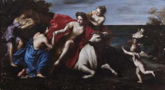 Fotonachweis: Dorotheum Auktion Alte Meister 12. Oktober Marcantonio Franceschini (1648-1729) Der Raub der Europa, Schätzwert € 200.000 - 300