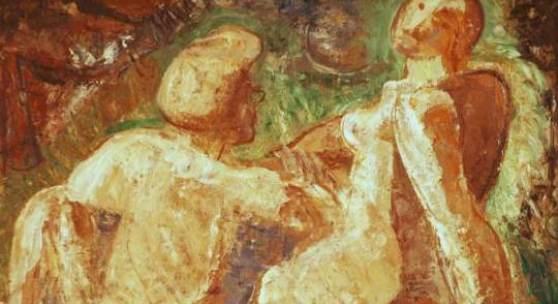 ID: 3019 Doppelakt, Svatopluk Machal von - bis: 2012-11-17 19:19:00-2012-11-17 19:20:59 Kategorie: gemälde Öl auf Karton, unsigniert, hinten mit dem Nachlaßstempel, Svatopluk Machal(*1895 Trebitsch - +1947 Prag), Böhmen, um 1930, 65 x 50 cm, gerahmt. Zustand 2 Schätzung: 1 200.00 (EUR) Limit: 1 000.00 (EUR)