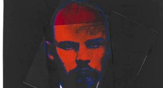 Lot: 764 Warhol, Andy Lenin, 1987. Schätzpreis: 100.000 EUR / 131.000 $