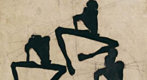 *       Egon Schiele, Komposition dreier Männerakte, 1910 © Leopold Museum, Inv. 1459
