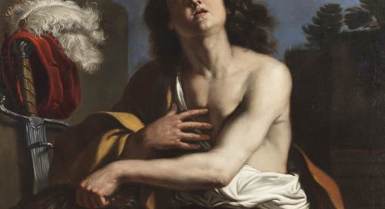 Giovanni Francesco Barbieri gen. il Guercino und Werkstatt - David mit dem Haupt des Goliath, 1650 Schätzpreis: € 250.000