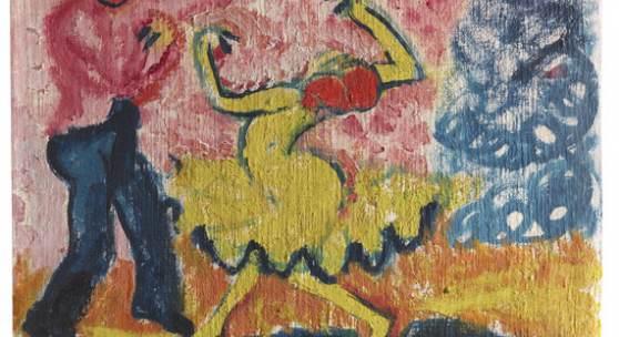 110 HERMANN MAX PECHSTEIN Tänzer, 1910. Öl auf Leinwand Schätzpreis: € 600.000 - 800.000