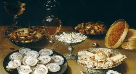 Osias Beert Antwerpen? c.1580-1623 Antwerpen Stilleven met oesters, wijn en lekkernijen, c.1610-1620 Paneel, 53 x 73 cm Washington, National Gallery of Art, Patrons' Permanent Fund