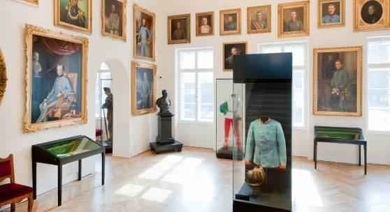 Kaiserjägermuseum  Kaisersaal im Kaiserjägermuseum, Saal 5  © TLM