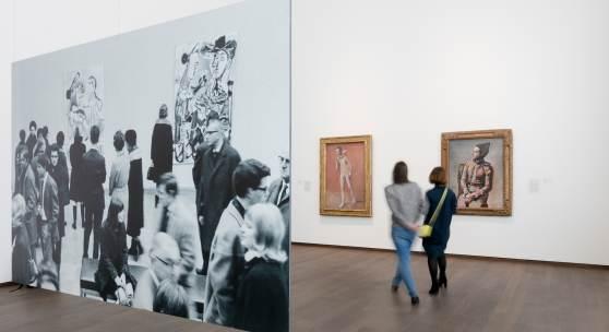 Ausstellungsansicht: 50 Jahre Picasso-Story