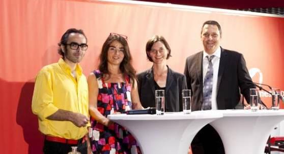 Roland Adlassnigg, Ingrid Adamer, Isabella Marte und Dietmar Stefani.