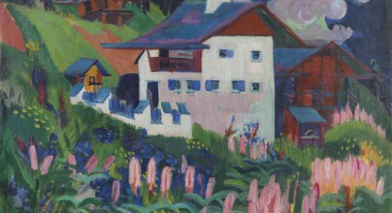 120000214 Ernst Ludwig Kirchner Unser Haus, 1918-1922. Öl auf Leinwand Schätzpreis: € 500.000 - 700.000