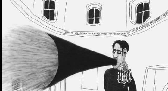 Werner Reiterer Breath, 2009 / © VBK Wien, 2009 Bleistift auf Papier 70 x 50 cm Courtesy Galerie Ursula Krinzinger, Wien