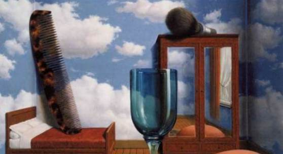 René Magritte Personal Values (Les Valeurs personnelles), 1952   Museum of Modern Art, San Francisco © ADAGP, Paris and DACS, London 2010