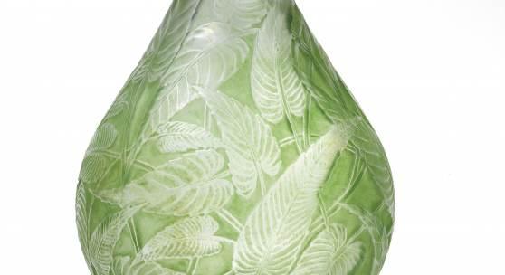 "139-086589/0022 Vase ""Sauge"", René Lalique, Wingen-sur-Moder, Entwurf 1923 Schätzwert 2.000 – 2.600"