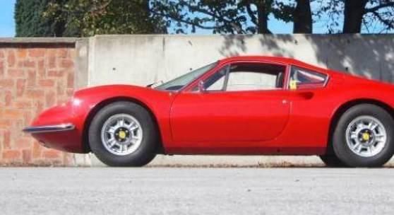 Kat Nr. 333 1972 DINO 246 GT, Ex Harald Ertl erzielter Preis € 330.000