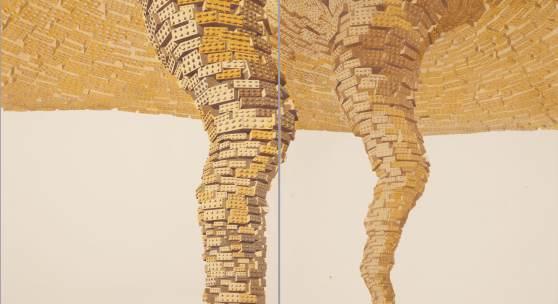 Los Carpinteros Tornado Amarillo Doble (Díptico), 2011 Thyssen-Bornemisza Art Contemporary, Wien © Los Carpinteros