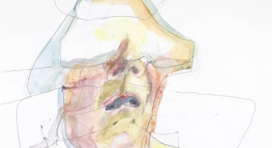 Maria Lassnig Gesichts-schichtenlinien, 1996 Albertina, Wien © 2017 Maria Lassnig Stiftung