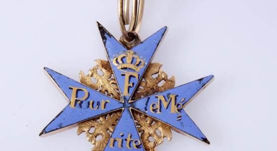 Pour le Mérite um 1810 mit Provenienz Aufrufpreis:9.500 EUR
