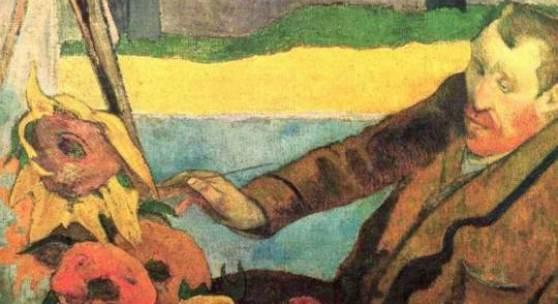 """Gauguin, Paul  Portraet des Vincent van Gogh Impressionismus   Das Gemälde """"Portraet des Vincent van Gogh"""" von Paul Gauguin als hochwertige, handgemalte Ölgemälde-Replikation."""