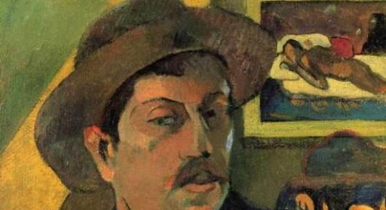 "Gauguin, Paul  Selbstportraet Impressionismus  Das Gemälde ""Selbstportraet"" von Paul Gauguin als hochwertige, handgemalte Ölgemälde-Replikation. © www.oel-bild.de"