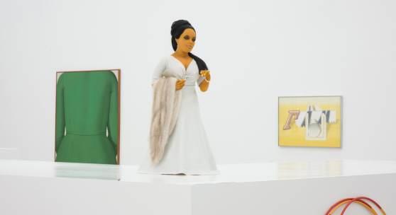 Ausstellungsansicht / Exhibition view Blühendes Gift. Zur feministischen Appropriation des österreichischen Unbewussten ,  mumok, Wien,  10 . 9. – 24 . 4 .2015 Photo: mumok / Laurent Ziegle