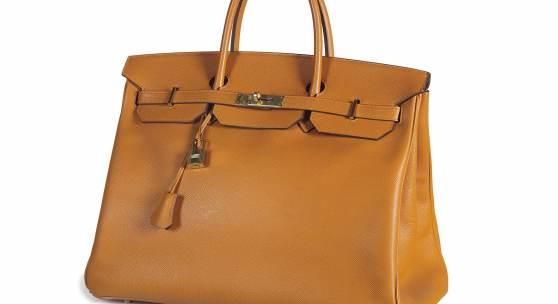 Hermès Birkin Bag 40, 2006, oranges Epsom-Leder, Rufpreis € 6.000