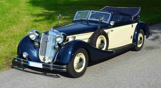 1938 Horch 853 Sportcabriolet, erzielter Preis € 495.800