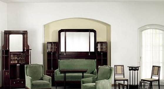 m bel einrichtung jugendstil art nouvea sezessionsstil art liberty modern style. Black Bedroom Furniture Sets. Home Design Ideas